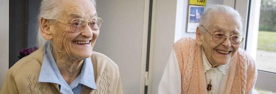 Femmes âgées en France